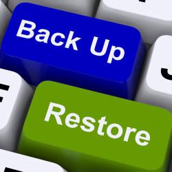 Restauration de votre site...